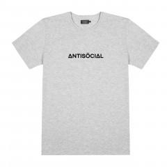 Футболка Antisocial Basic Grey Melange