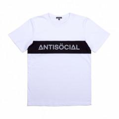 Футболка Antisocial Classic White