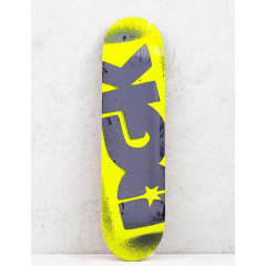 Дека DGK Fluorescent Logo Yellow 8.25""