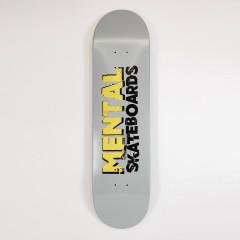 """Дека Mental Skateboards Grey 8.0"""""""